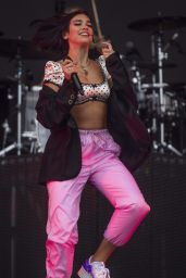 Dua Lipa Performs at Leeds Festival 08/26/2018