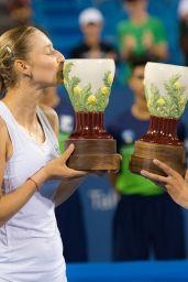 Ekaterina Makarova and Lucie Hradecka - 2018 Western and Southern Open in Cincinnati Final 08/18/2018