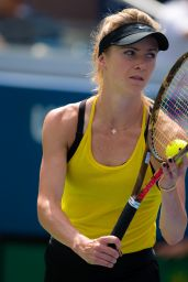 Elina Svitolina – Practices at the 2018 US Open in NYC 08/22/2018