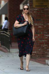 Elizabeth Berkley - Out in Beverly Hills 08/02/2018