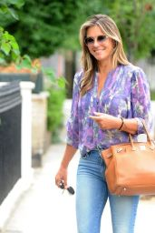 Elizabeth Hurley Chic Style - London, August 2018