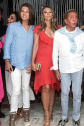 Elizabeth Hurley - Night Out in Athens 08/08/2018