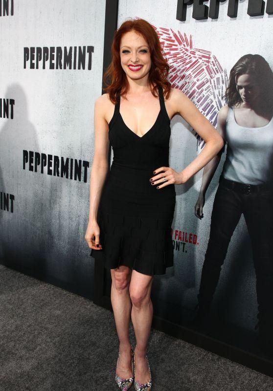 """Elizabeth J. Carlisle – """"Peppermint"""" Premiere in LA"""