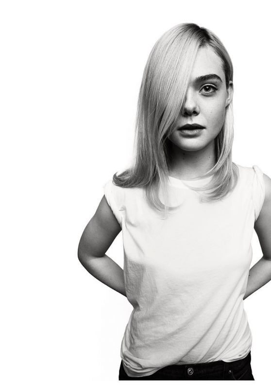 Elle Fanning Photoshoot, August 2018