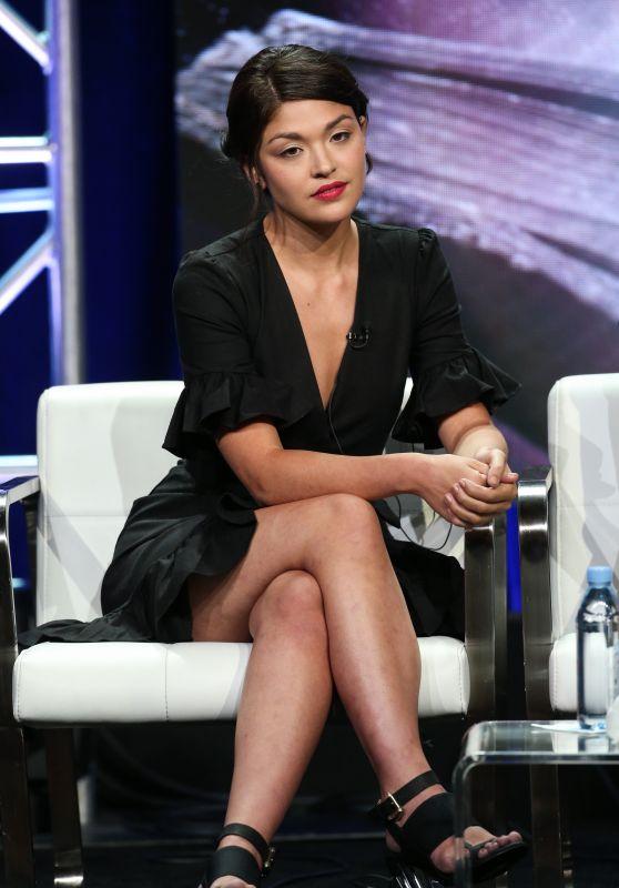 "Ellen Tamaki - ""Charmed"" TV Show Panel at 2018 TCA Summer Press Tour in LA"