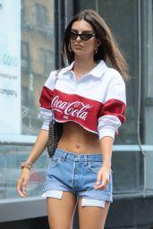 Emily Ratajkowski Street Style - NYC 08/14/2018