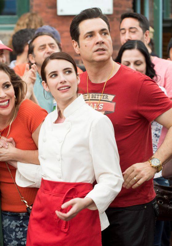 Emma Roberts, Alyssa Milano, Jane Seymour and Hayden Christensen - Little Italy (2018) Photos