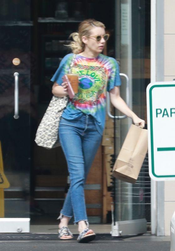 Emma Roberts - Out in Los Feliz 08/20/2018