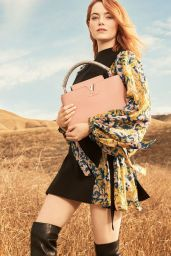 Emma Stone - Photoshoot for Louis Vuitton Pre-Fall 2018 Collection