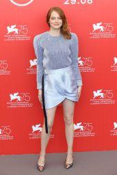 "Emma Stone - ""The Favourite"" Photocall in Venice"