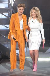 Emma Willis - Celebrity Big Brother Eviction Show in Borehamwood 08/28/2018