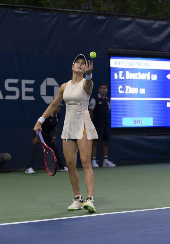 Eugenie Bouchard - 2018 US Open Tennis championship in New York - Qualifying Day 1