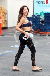 Farrah Abraham in Spandex - West Hollywood 08/16/2018