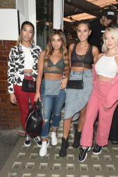 Four Of Diamonds at Fiorucci Clothing Launch in Soho, London