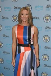 """Gabby Logan - """"All Or Nothing"""" World Premiere in Manchester"""
