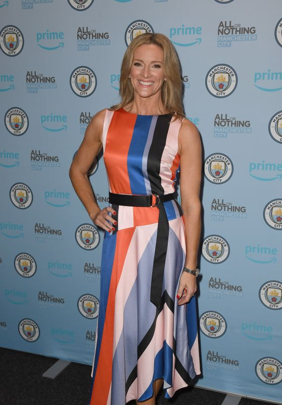 "Gabby Logan - ""All Or Nothing"" World Premiere in Manchester"