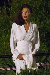 "Gal Gadot - ""Wonder Woman 1984"" Filming in London 08/07/2018"
