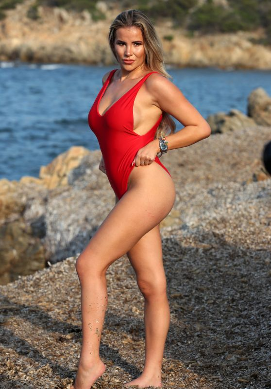 "Georgia Kousoulou - ""The Only Way Is Essex"" TV Show Photoshoot in Sardinia"