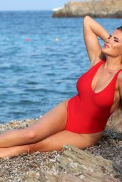 """Georgia Kousoulou - """"The Only Way Is Essex"""" TV Show Photoshoot in Sardinia"""