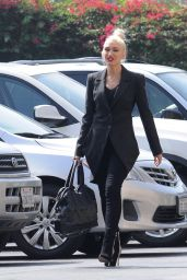 Gwen Stefani at St. Brendan Catholic Church in Los Angeles 08/26/2018