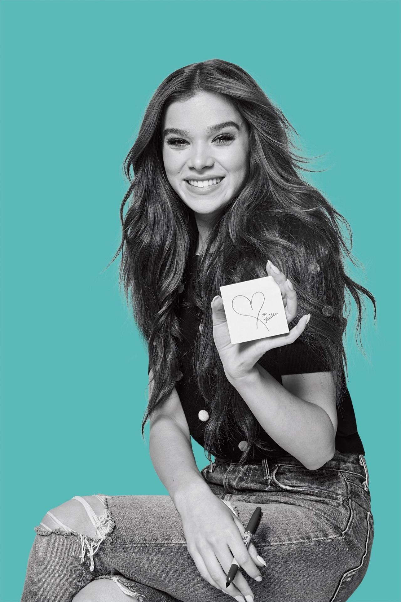 Hailee Steinfeld - Promo Photoshoot for Post-it Brand