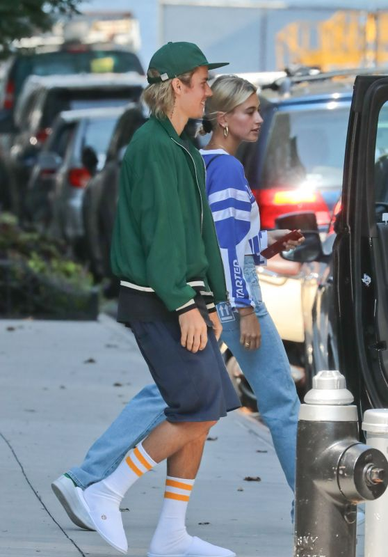 Hailey Baldwin and Justin Bieber - Out in NYC 08/05/2018