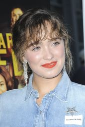 """Haley Lu Richardson – """"Support The Girls"""" Premiere in New York"""