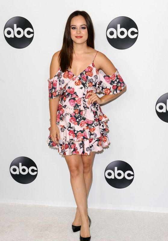 Hayley Orrantia – ABC All-Star Happy Hour at 2018 TCA Summer Press Tour in LA