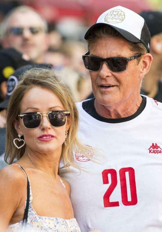 Hayley Roberts at the Gumball 3000 Rally in London 08/05/2018