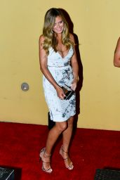 "Heidi Klum - Arriving to the Simon Cowell ""Hollywood Star Celebration Party in LA"