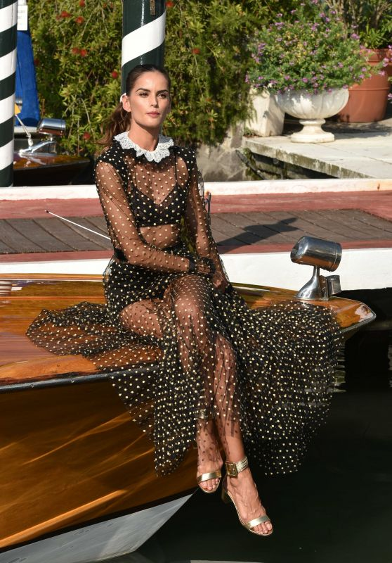 Izabel Goulart - Arriving at the 75th Venice Film Festival 08/28/2018