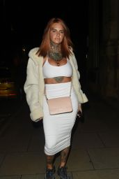 Jemma Lucy at Rosso Restaurant in Manchester 08/25/2018
