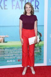 "Jen Zaborowski – ""Like Father"" Premiere in Hollywood"