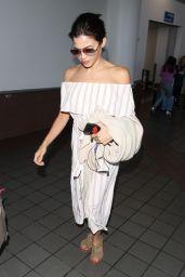 Jenna Dewan at LAX in Los Angeles 08/08/2018