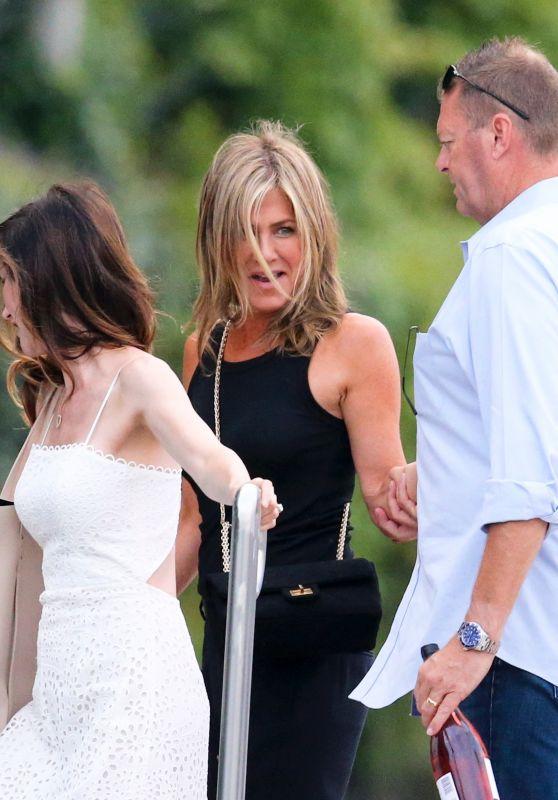 Jennifer Aniston - Arrives in Como 08/06/2018