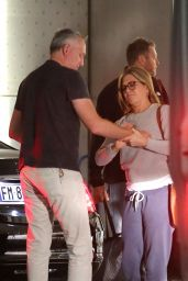 Jennifer Aniston in Milan, Italy 08/28/2018