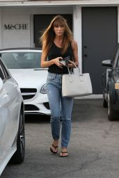 Jennifer Flavin Exits Meche Salon in Beverly Hills 08/10/2018