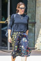 Jennifer Garner at Church Services in Pacific Palisades 08/26/2018