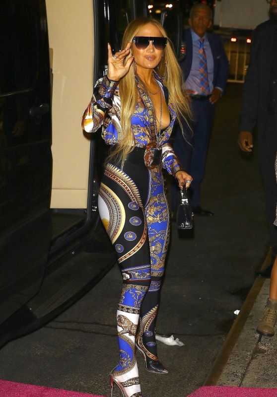 Jennifer Lopez Arrives at 2018 VMA Afterparty in New York