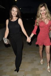 Jess Impiazzi and Hannah Elizabeth - Night in Manchester 08/19/2018