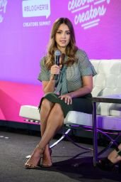 "Jessica Alba - ""#Blogher18 Creators Summit in NY"
