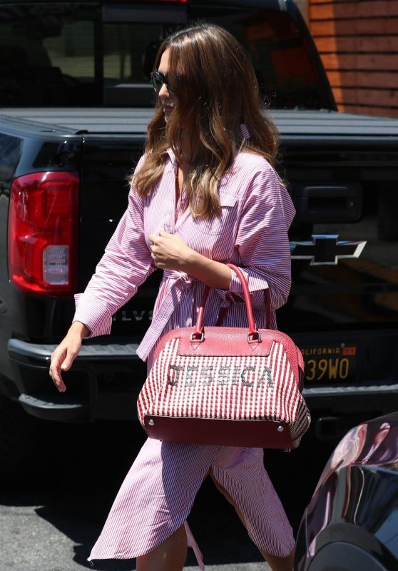 Jessica Alba in West Hollywood 08/01/2018