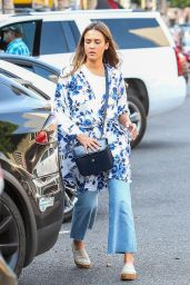 Jessica Alba - Out for Lunch in Beverly Hills 08/10/2018