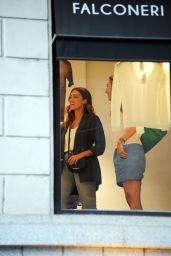 Jessica Alba - Shopping in Milan 08/29/2018