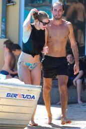 Jessica Marais in Bikini at Bondi Beach (2018)