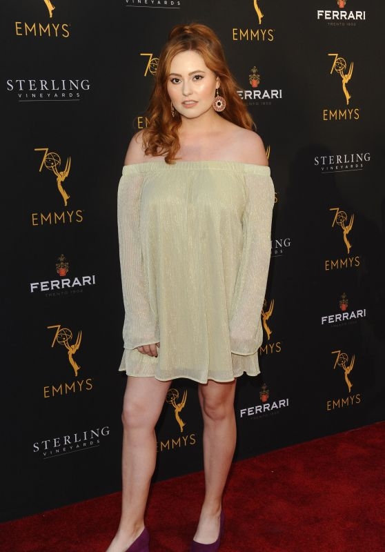 Jillian Clare – Television Academy Daytime Peer Group Emmy Celebration in LA 08/22/2018