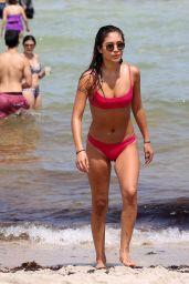 Jocelyn Chew in Bikini on the Beach in Miami 08/11/2018