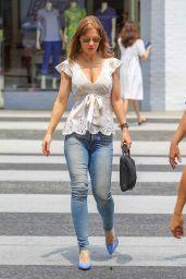 Josie Davis Street Style - Beverly Hills 08/10/2018
