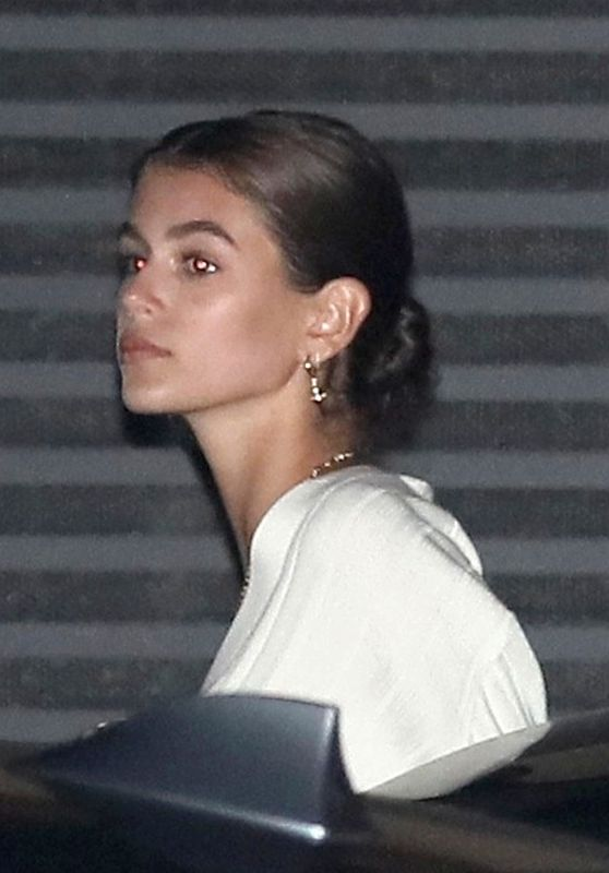 Kaia Gerber at Nobu in Malibu 08/16/2018