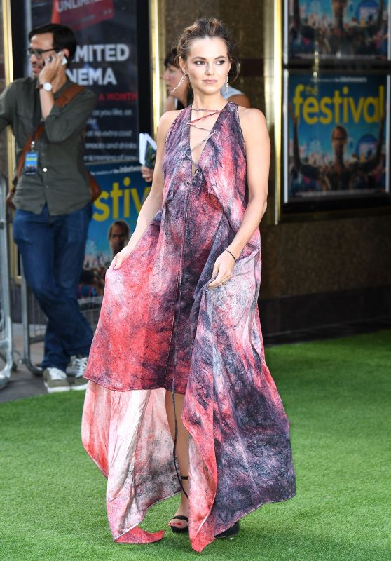 "Kara Tointon – ""The Festival"" Premiere in London"